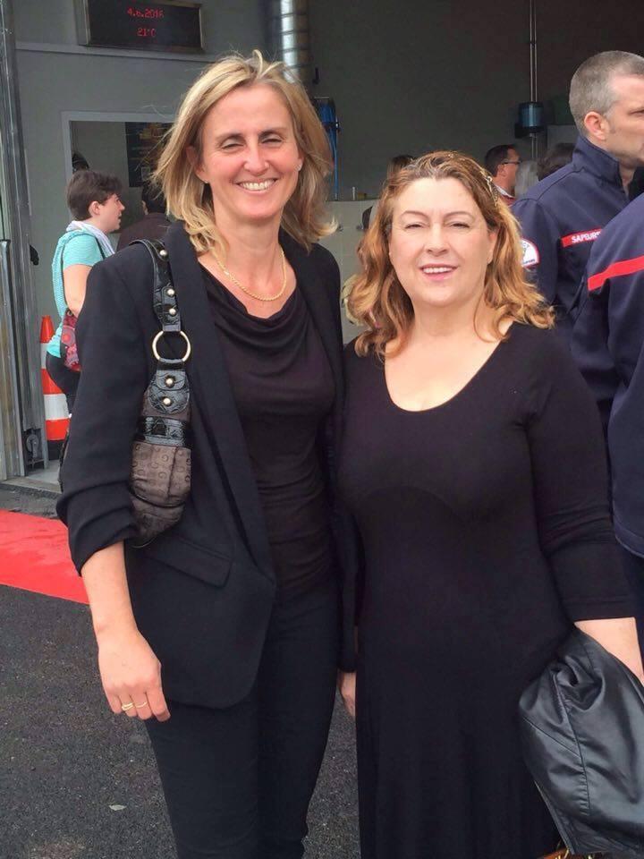 Avec Mme Fabienne Monbaron, Maire de PLO (2016-2017)