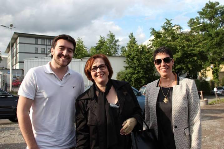 Bruno Silva, Mariana Correia, Sandra Pernet